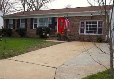 Newport News Residential New Listing: 231 Mona Dr NE
