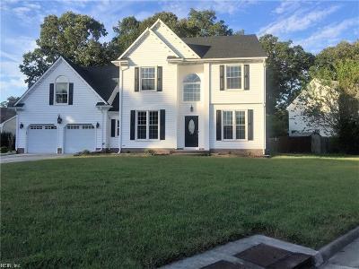 Chesapeake Residential New Listing: 3401 Albury Ct