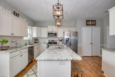 Chesapeake Residential New Listing: 805 Dunbar Ct