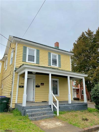 Suffolk Multi Family Home New Listing: 321 Hill St