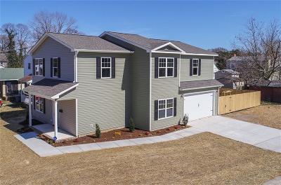 Hampton VA Residential New Listing: $269,900