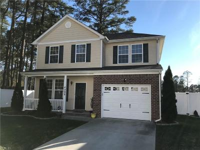 Chesapeake Residential New Listing: 4299 White Cap Cres