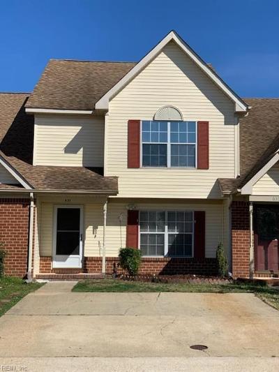 Chesapeake Residential New Listing: 631 Brisa Ct