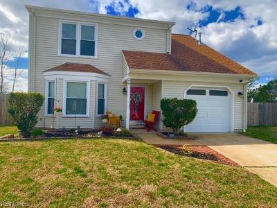 Virginia Beach Residential New Listing: 1049 Purrington Ct