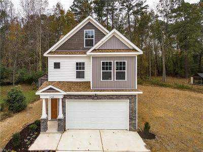 Chesapeake Residential New Listing: .5 Ac Battle St