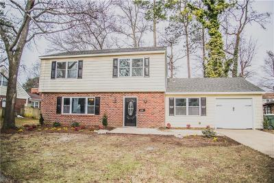 Hampton VA Residential New Listing: $274,900