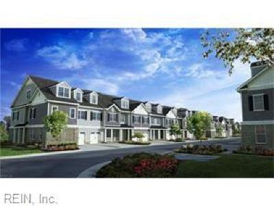 Chesapeake Residential New Listing: 404 Charleston St #32