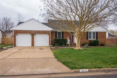 Virginia Beach Residential New Listing: 2616 Meckley Ct