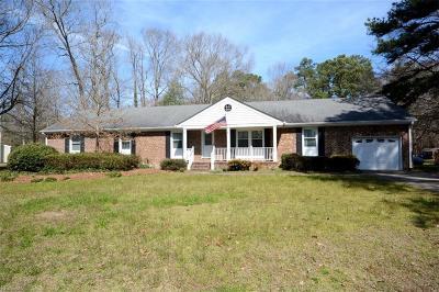 Chesapeake Residential New Listing: 512 Margaret Dr