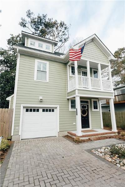 Virginia Beach Residential New Listing: 517 24th 1/2 St