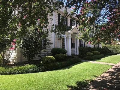 Norfolk Residential New Listing: 1201 Matoaka St