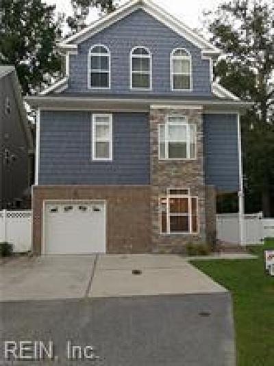 Virginia Beach Residential New Listing: 4901 Boyle Ct