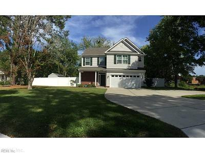 Virginia Beach Residential New Listing: 2428 Seaboard Rd