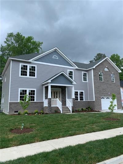 Chesapeake Residential New Listing: 2420 Mandolin Ct #LT 4