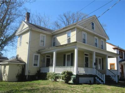 Norfolk Residential New Listing: 2701 Vincent Ave