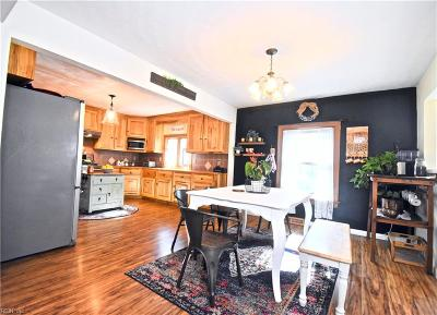Chesapeake Residential New Listing: 2530 Drum Creek Rd
