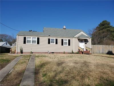 Norfolk Residential New Listing: 8029 Galveston Blvd