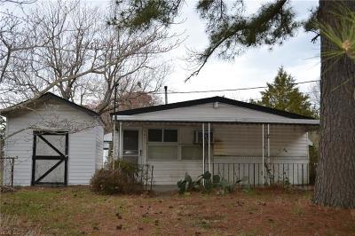 Chesapeake Residential New Listing: 4307 Towanda Rd