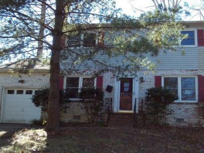 Newport News Residential New Listing: 324 Beechmont Dr