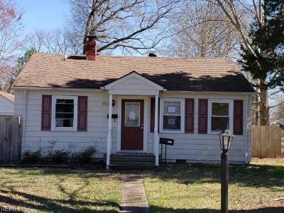 Newport News Residential New Listing: 5912 Wickham Ave