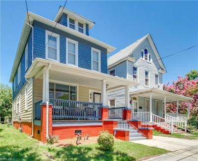 Norfolk Residential New Listing: 1003 Fauquier St