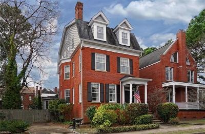Norfolk Residential New Listing: 615 Raleigh Ave