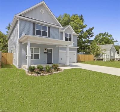 Norfolk Residential New Listing: 1354 Elm View Ave