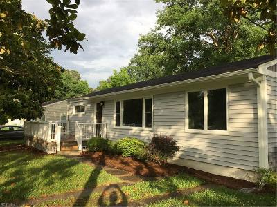 Virginia Beach Residential New Listing: 4409 Bowden Ave