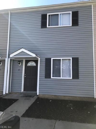 Newport News Residential New Listing: 152 Delmar Ln #E