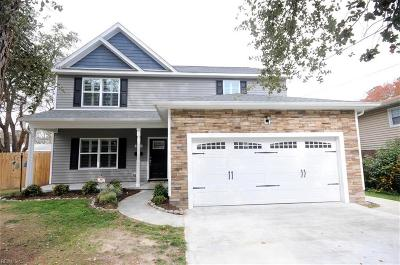 Norfolk Residential New Listing: 8721 Commodore Dr