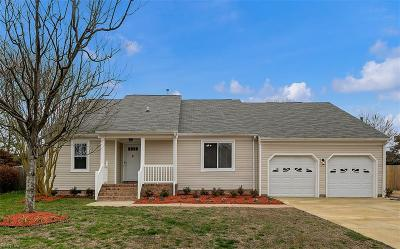 Virginia Beach Residential New Listing: 2145 Dove Ridge Dr