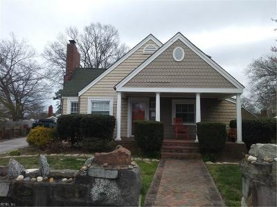 Norfolk Multi Family Home New Listing: 8466 Old Ocean View Rd