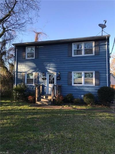 Norfolk Multi Family Home For Sale: 246 D View Ave