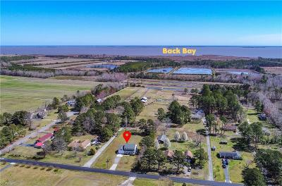 Pungo Residential For Sale: 5236 Morris Neck Rd