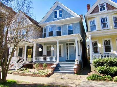 Norfolk VA Multi Family Home Under Contract: $385,000
