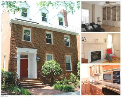 Norfolk Residential For Sale: 707 Mowbray Arch