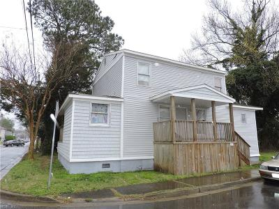 Norfolk VA Multi Family Home For Sale: $155,000