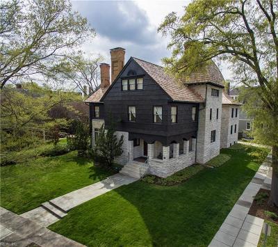 Norfolk Residential For Sale: 507 Pembroke Ave