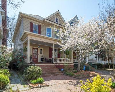 Portsmouth Residential Under Contract: 527 Hampton Pl