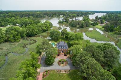 Chesapeake Residential For Sale: 3900 Oak Dr E