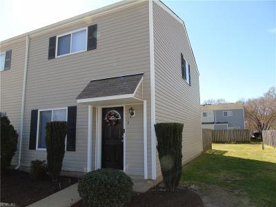 Newport News Residential Under Contract: 161 Jenness Ln #F