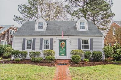 Norfolk Residential Under Contract: 1426 Mallory Ct