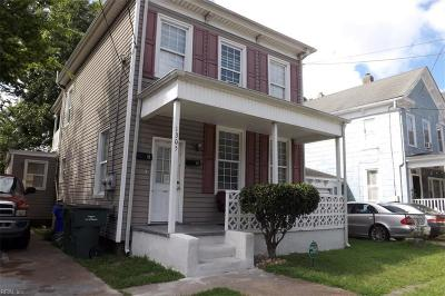Norfolk VA Multi Family Home For Sale: $239,900
