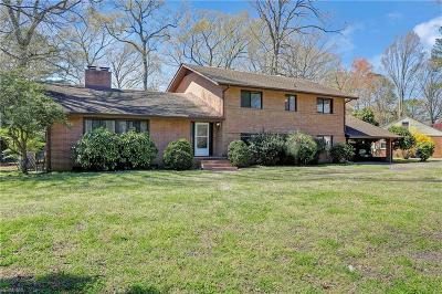 Portsmouth Residential For Sale: 3606 Gentle Rd