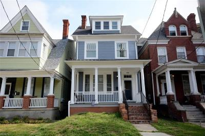 Norfolk Residential For Sale: 810 Westover Ave
