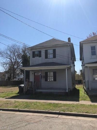 Newport News Multi Family Home For Sale: 1240 24th St