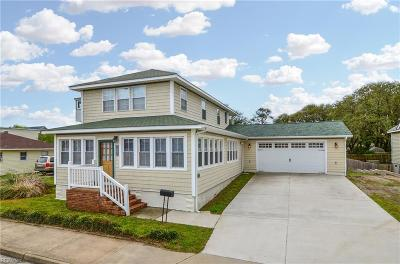 Norfolk Residential New Listing: 919 W Ocean View Ave
