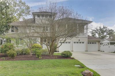 Virginia Beach Residential New Listing: 2404 Chubb Lake Ave
