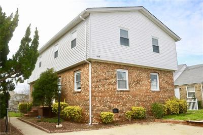 Norfolk Multi Family Home New Listing: 9513 18th Bay St