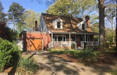 Norfolk Residential New Listing: 7933 Bison Ave